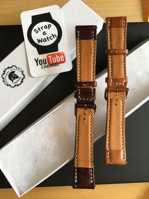 Michael Knapp leather Watch Straps