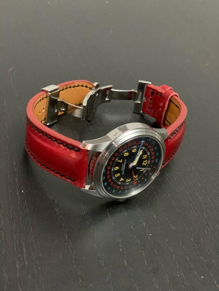As seen on the YouTube show Strap a Watch by Michael Knapp Leather