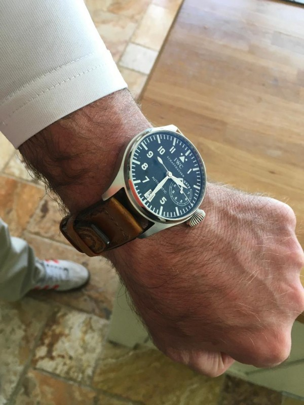 Aviator Style Strap by Michael Knapp Leather